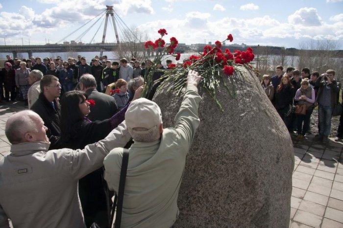 Митинг памяти аварии на Чернобыльской АЭС-4