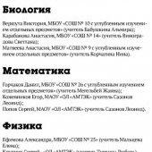 Выпускники-2013, отличники ЕГЭ