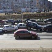 ДТП 17.04.2014 на пр. Победы-1
