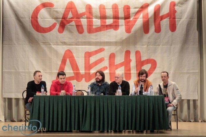 Сашин день-2014, пресс-конференция