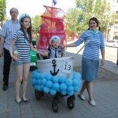 День защиты детей-2014, парад колясок2