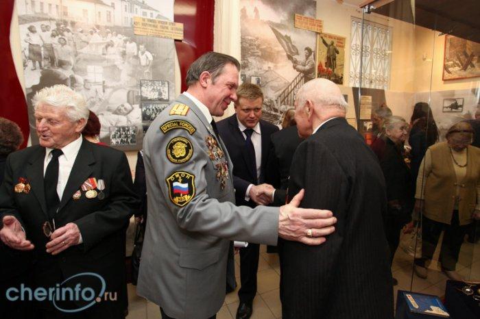 Открытие выставки о войне-5