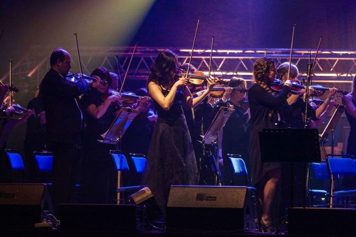 «Би-2» с симфоническим оркестром - скрипки