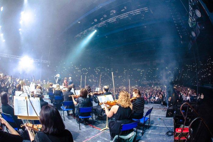 «Би-2» с симфоническим оркестром - зал