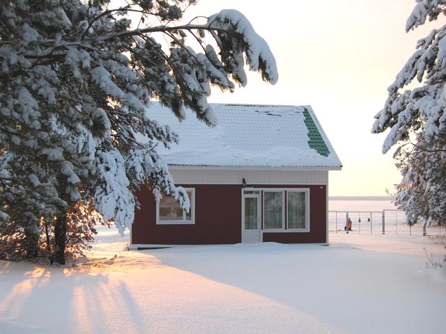 Верхняя Рыбинка зимой