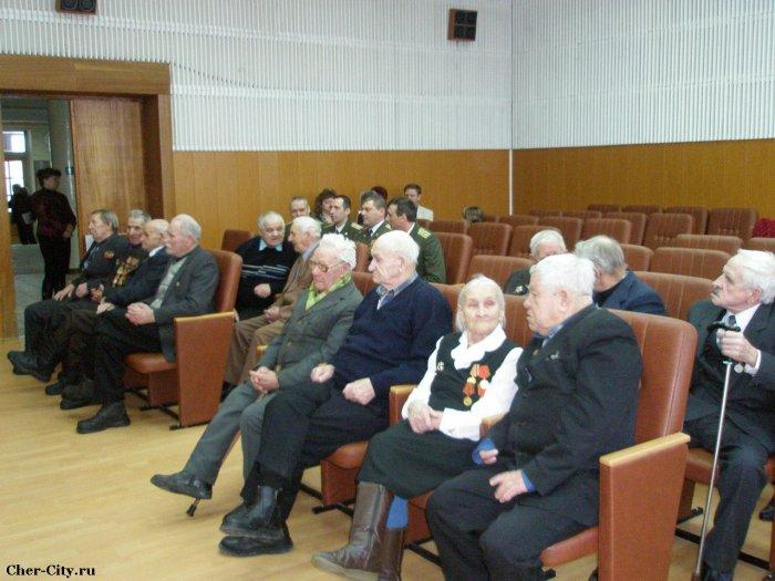 Награждение ветеранов, перед церемонией