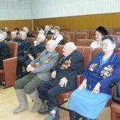 Награждение ветеранов, праздничный концерт