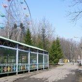 Колесо обозрения в Парке культуры и отдыха