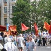 Марш поколений металлургов, ветераны ЧерМК