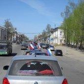 Автопробег 9 мая 2011, начало