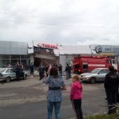 Автобус врезался в здание-2, 25.08.2012