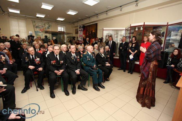 Открытие выставки о войне-1