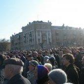 Митинг в защиту малого бизнеса, массы