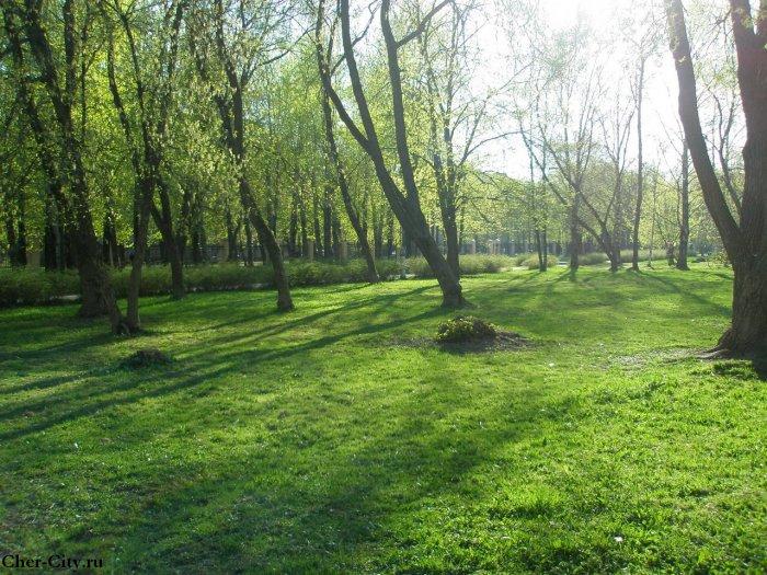 Комсомольский парк, 9 мая 2009 г.