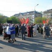 Танцы на площади, 9 мая 2009 г.