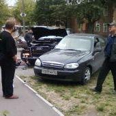 ДТП на перекрёстке улиц Труда и Коммунистов-2, 12.08.2008