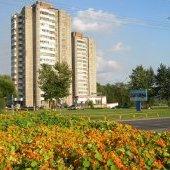 16-этажки у Октябрьского моста