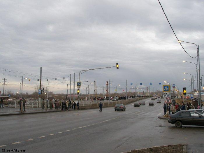 Открытие Ягорбского моста, вид с ул. Набережной